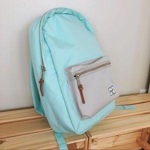 Herschel Blue Tint Settlement Mid Backpack Laptop